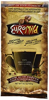 Euromild Low Acid Decaffeinated Ground Coffee