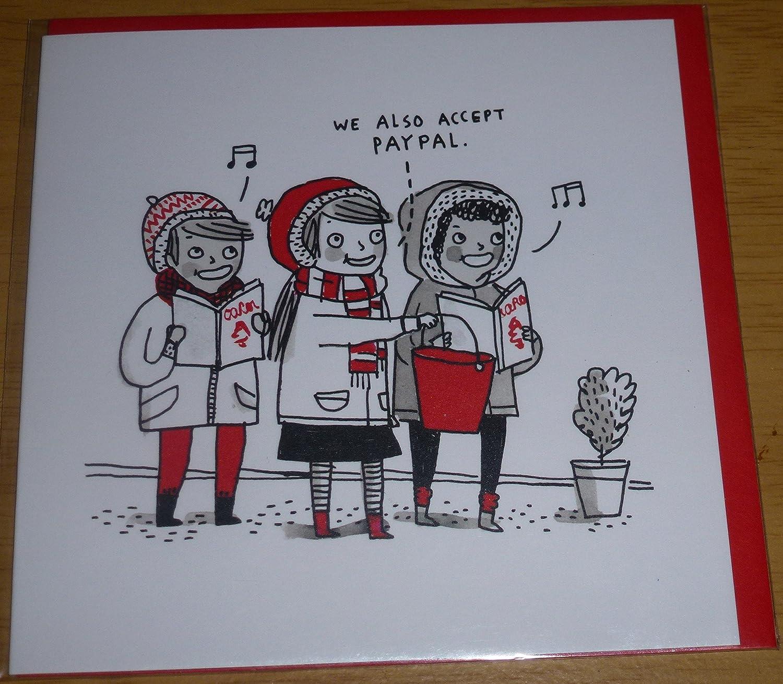 También aceptamos Paypal - Tarjeta de Navidad, diseño de cantantes ...