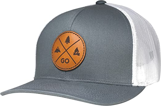 Lindo Trucker Hat - GO Outdoors (Black) at Amazon Men s Clothing store  24eb02e69403