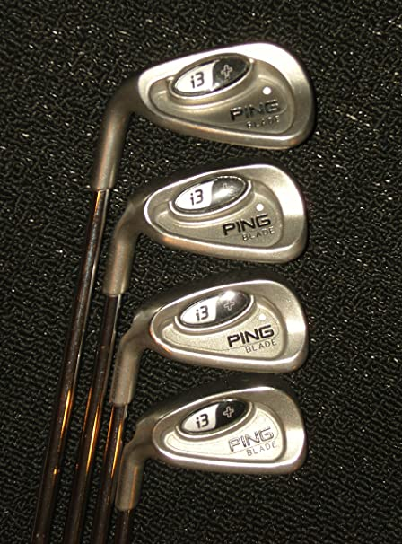 Amazon.com: Ping i3 + Blade palos de golf, color blanco Dot ...