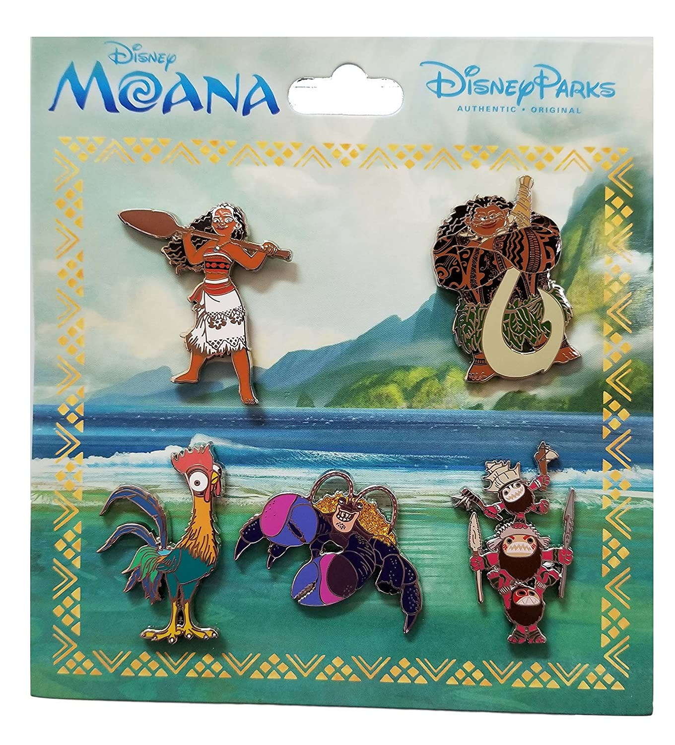 Disney Pin - Moana - Booster Set