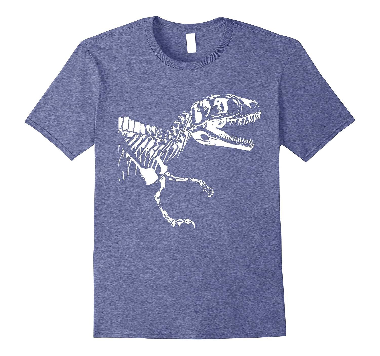 T-Rex Skeleton Shirt Dino Roar Dinosaur Cool Costume Gift-mt