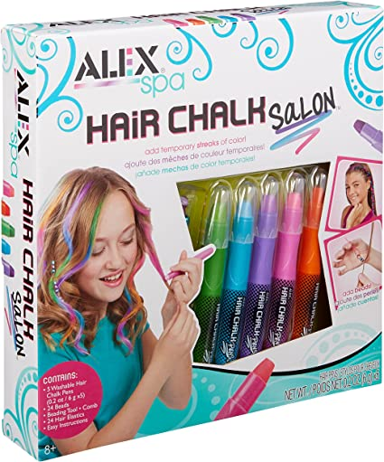 Alex Chalk Salon for Girls Hair Activity