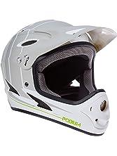 Demon Podium Full Face Mountain Bike Helmet (White, X-Small)