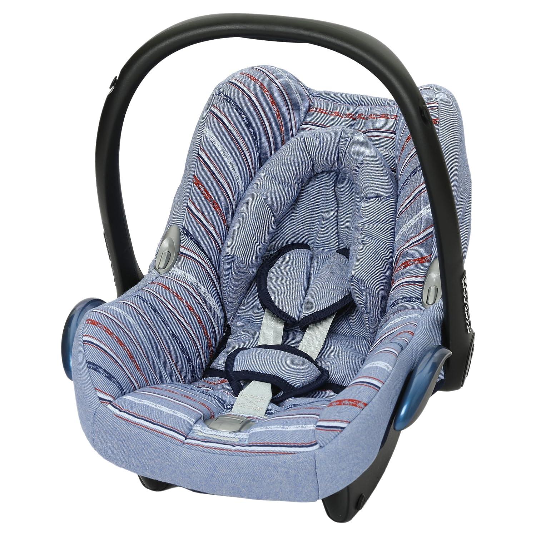 Replacement spare seat cover fit Maxi Cosi CabrioFix 0 Infant Carrier NEW DENIM DENIM UNION JACK