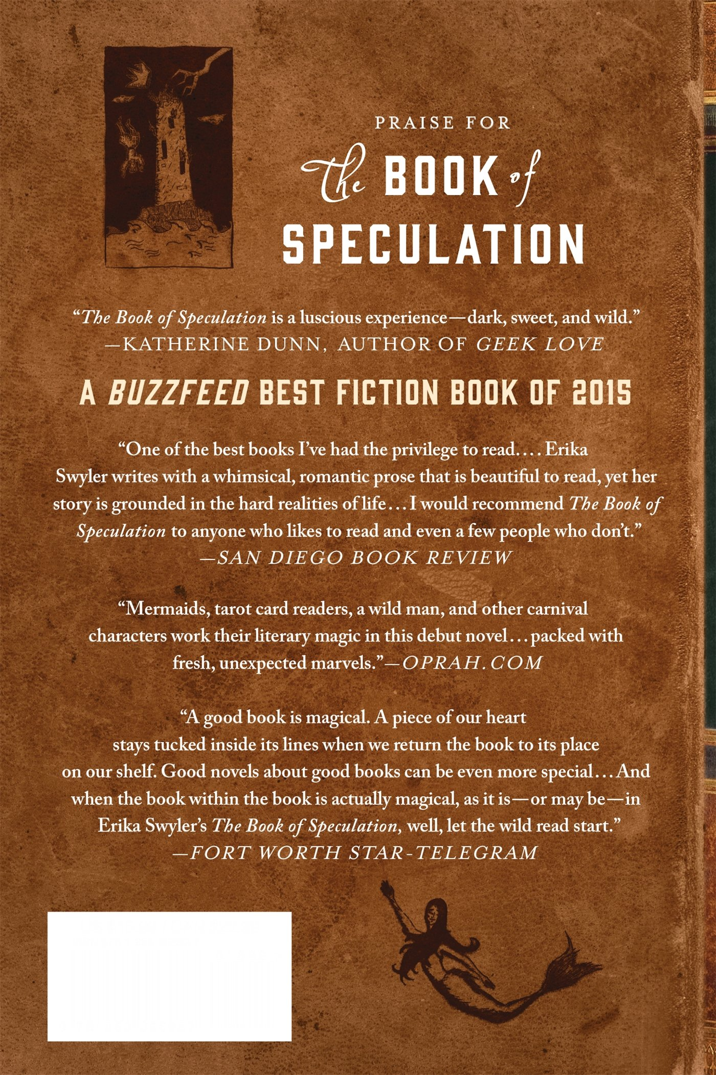The Book Of Speculation: A Novel: Erika Swyler: 9781250055637: Amazon:  Books