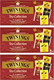 Twinings - Selection Pack, 25 bustine per confezione, 3 Pacchi (3 x 50 g)