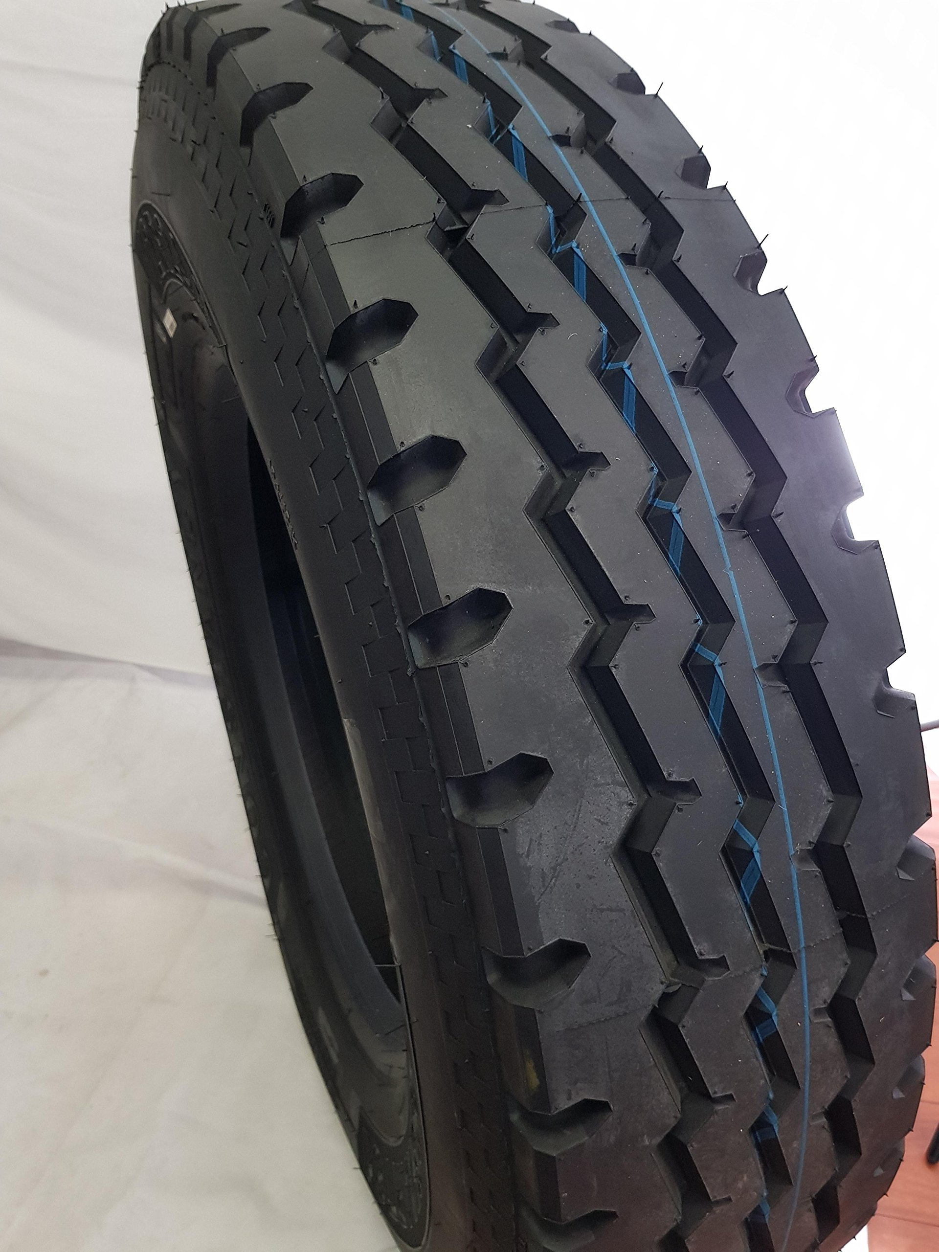 12R24.5 (2-Tires) ROAD WARRIOR CONSTANCY 12R24.5 J/18PR 152/149M- New Steer All Position 12225