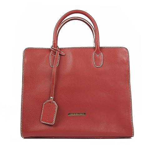 mirada detallada 7120b 0fa91 Adolfo Dominguez - Bolso para mujer, color rojo: Amazon.es ...