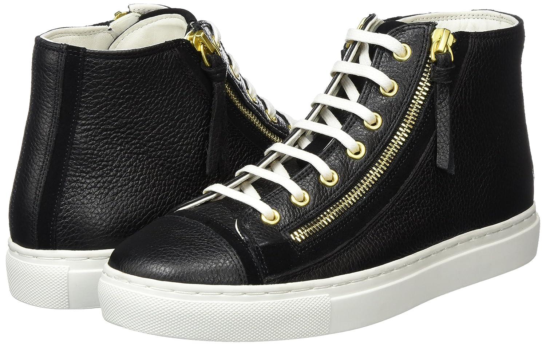 d0daee99559a40 HUGO Damen Nycole-G 10193791 01 High-Top Schwarz (Black 001) 38 EU   Amazon.de  Schuhe   Handtaschen