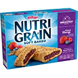 Kellogg's Nutri-Grain Cereal Bars (Mixed Berry, 8-Count Bars, 1.3 oz, Pack of 6)