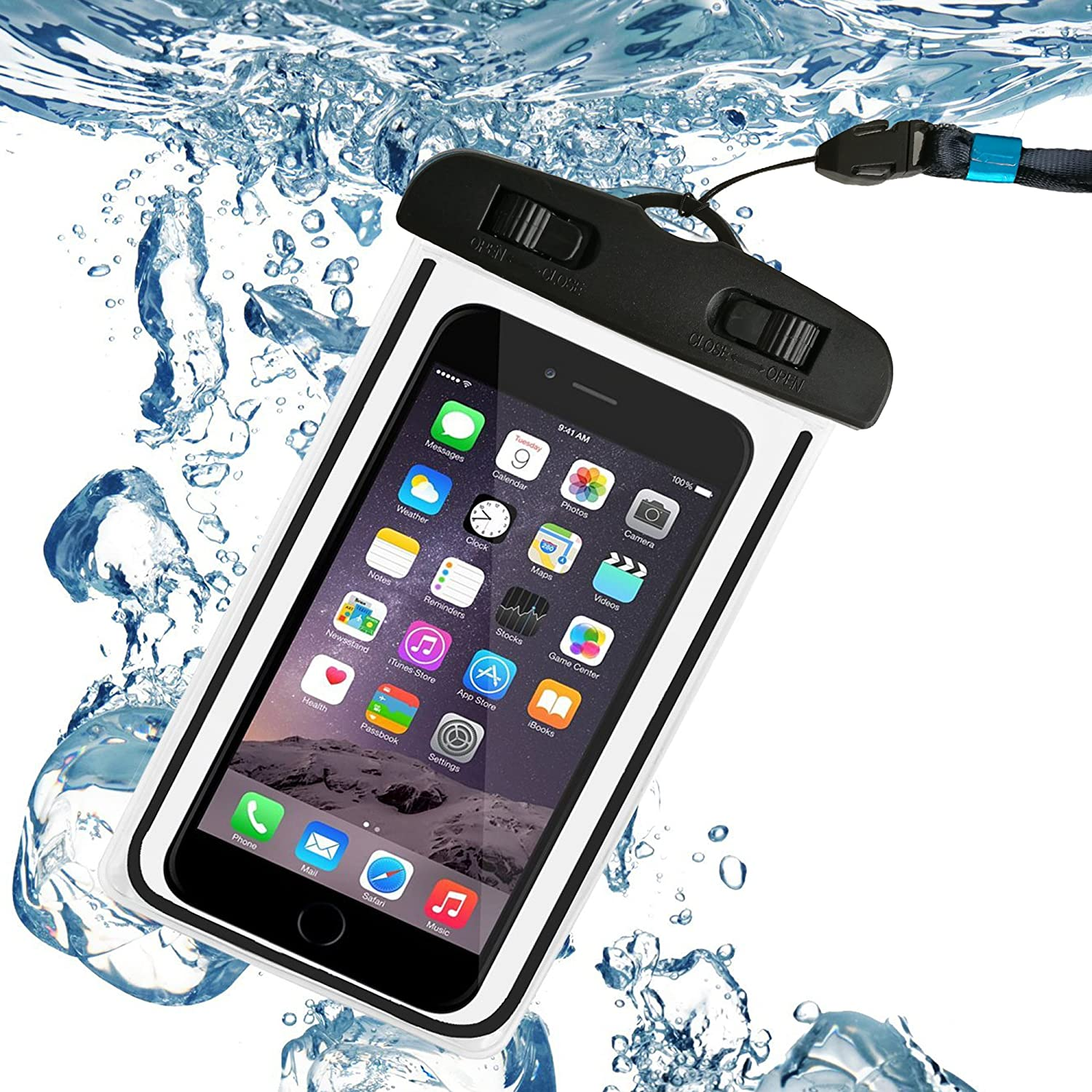 87d4fb7794b73 LM waterproof phone case Universal Waterproof Case Durable ...
