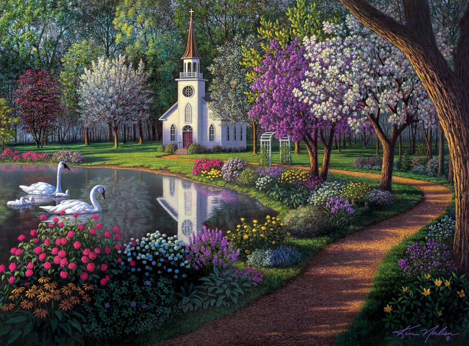 Buffalo Games - Kim Norlien - Sanctuary - 1000 Piece Jigsaw Puzzle