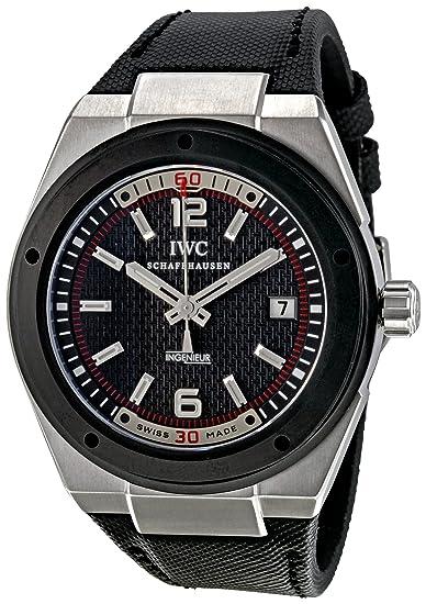 IWC IW323401 - Reloj de pulsera hombre, tela, color negro
