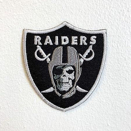 Parche bordado para coser o planchar con calavera del ejército de Raiders: Amazon.es: Hogar