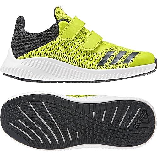 adidas Fortarun Cool CF i, Scarpe Running Unisex-Bambini, Giallo (Ftwbla/Carbon/Ftwbla 000), 26 EU