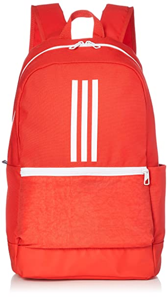 9698e1279c63 Adidas Unisex Red Classic 3-Stripes Backpack  Amazon.in  Bags ...