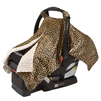 LUXURIOUS BABY CAR SEAT COVER AND NURSING 2 IN 1