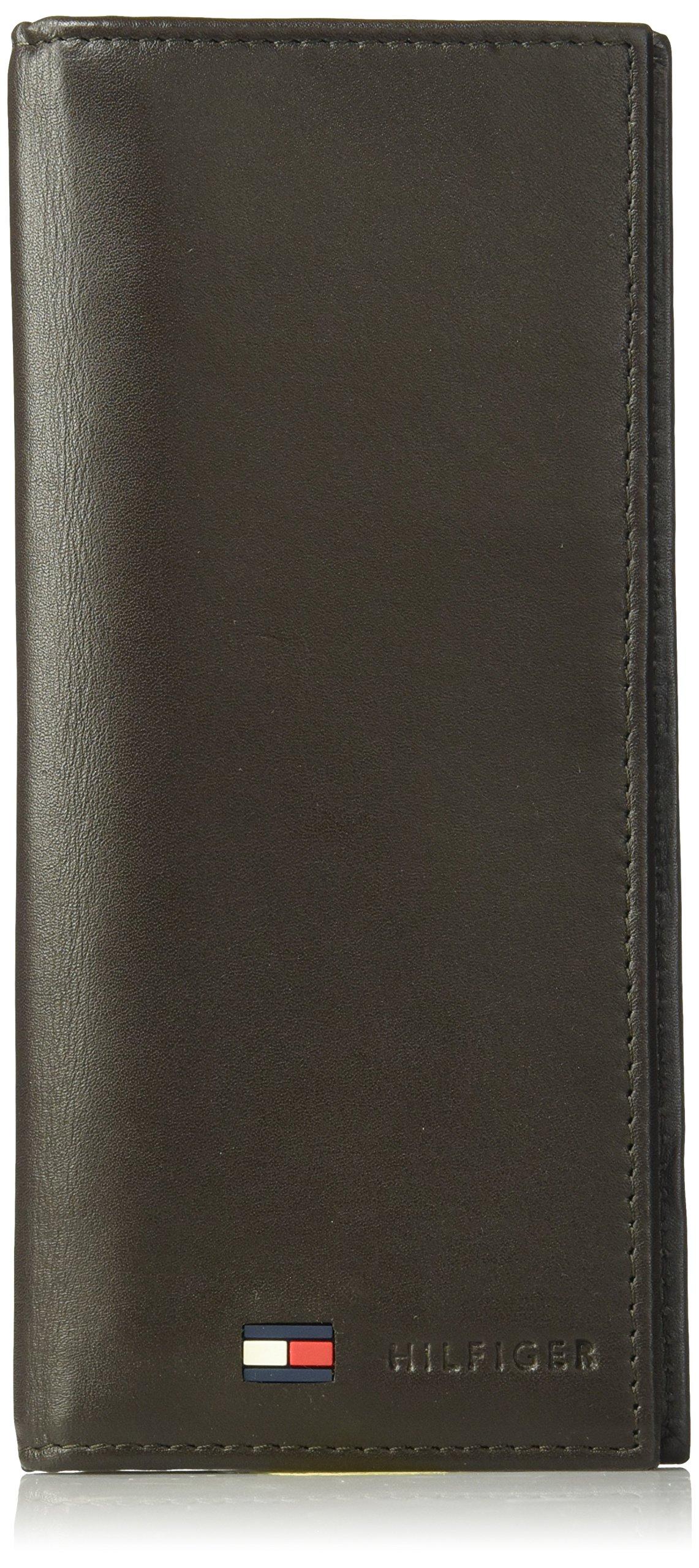 Tommy Hilfiger Men's Sheepskin Secretary Wallet