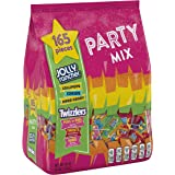 Jolly Rancher & Twizzlers Candy Variety Pack, Fun Size, 165 Pieces, 48 Oz - SET OF 2