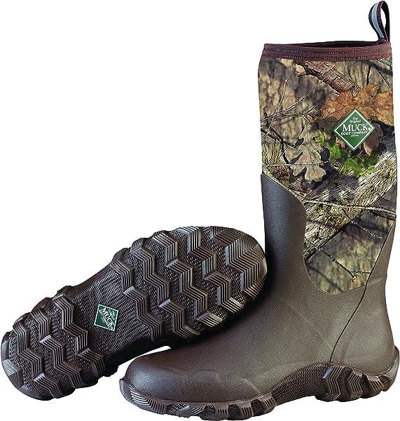 fb12f67f8aa81 Muck Boot Men's Woody Blaze Cool Rain Boot, Mossy Oak Country, 14 Regular US