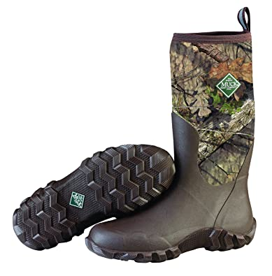Muck Boot Men's Woody Blaze Cool Rain Boot Mossy Oak Country 12 Regular US