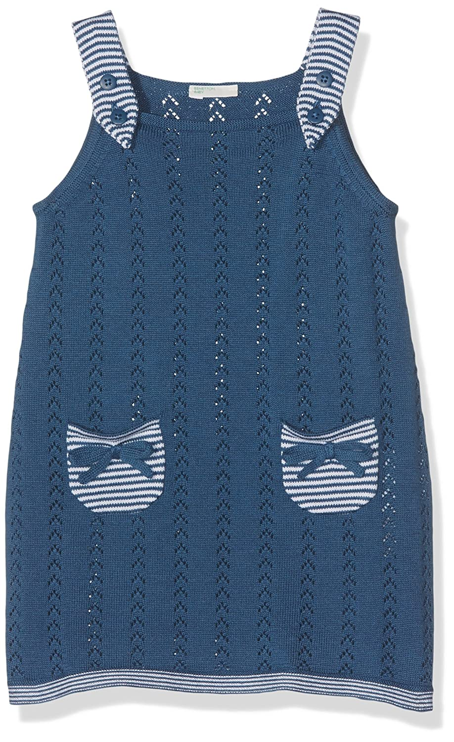 United Colors of Benetton Baby-Mädchen Overall Skirt Dungaree 10C1F803N