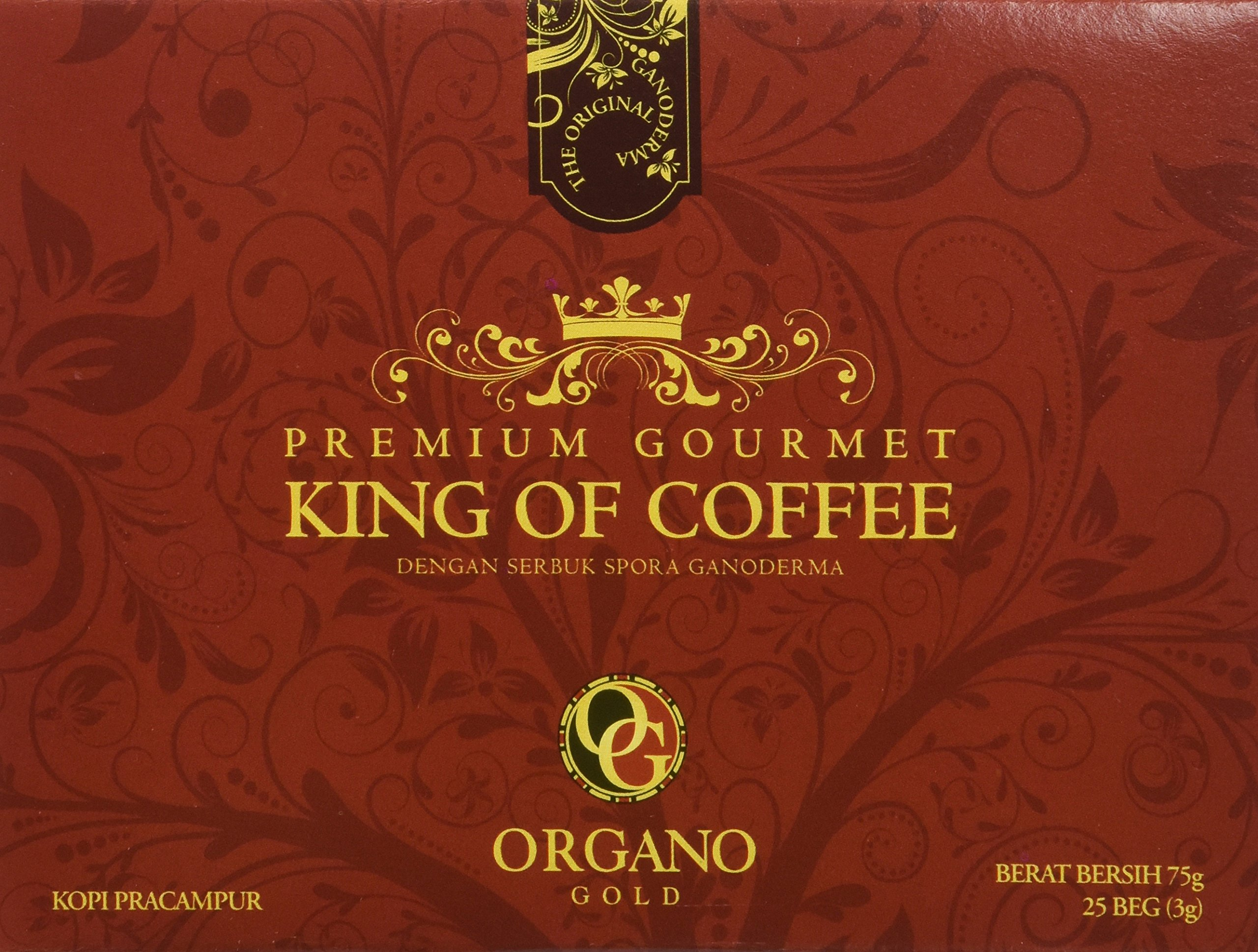 12 boxes of organo gold ganoderma black coffee 30