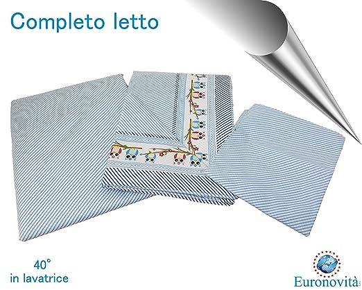 3 opinioni per Completo biancheria da letto, Lenzuola in Cotone stampato per Letto