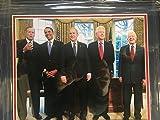 Former Presidents Jimmy Carter, George