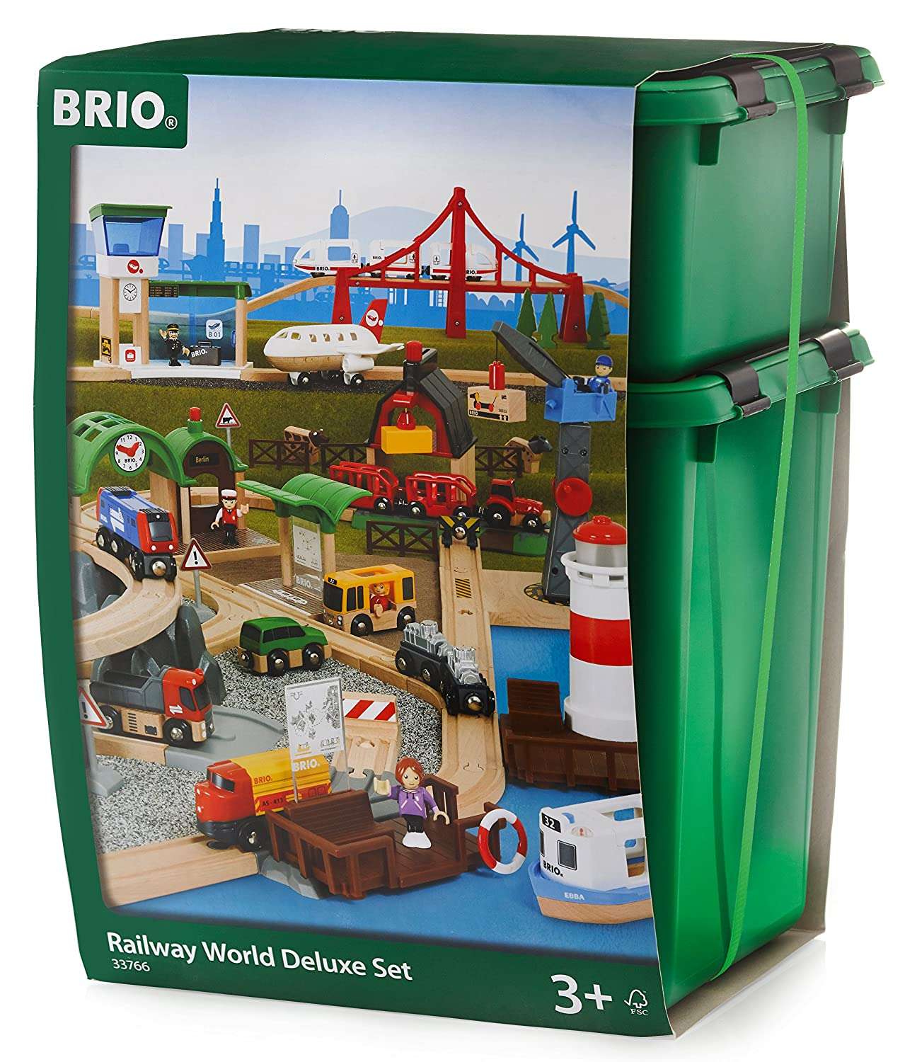 Brio Railway World Deluxe Set Ravensburger 33766