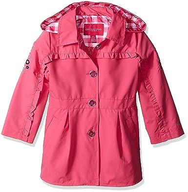 54b82b8f0dcae Amazon.com  London Fog Girls  Lightweight Trench Coat  Clothing