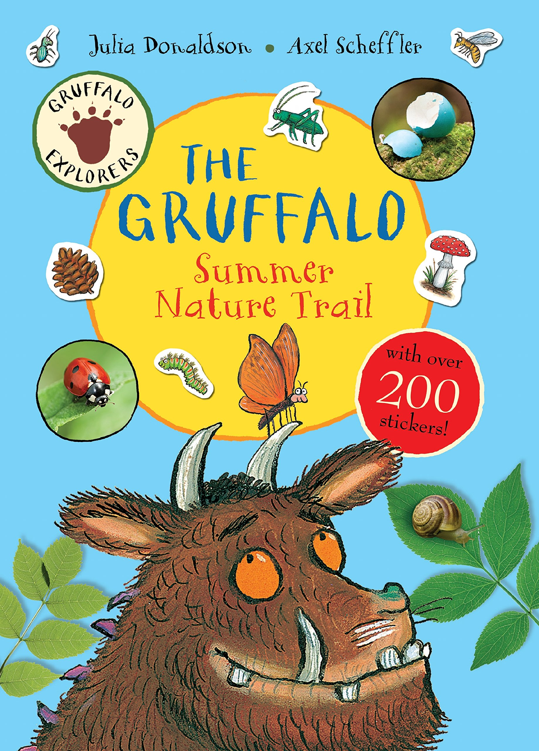 Gruffalo childrens magnetic learning calendar perpetual gruffalo explorers the gruffalo summer nature trail amipublicfo Image collections