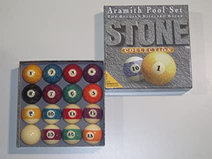 American Aramith - Bolas de billar (granito, 5,72 cm): Amazon.es: Deportes y aire libre