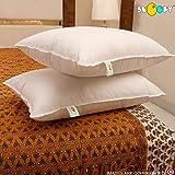 "Snoopy Reliance Fibre Filled 2 Piece Pillow Set - 16"" x 24"", Antique White"