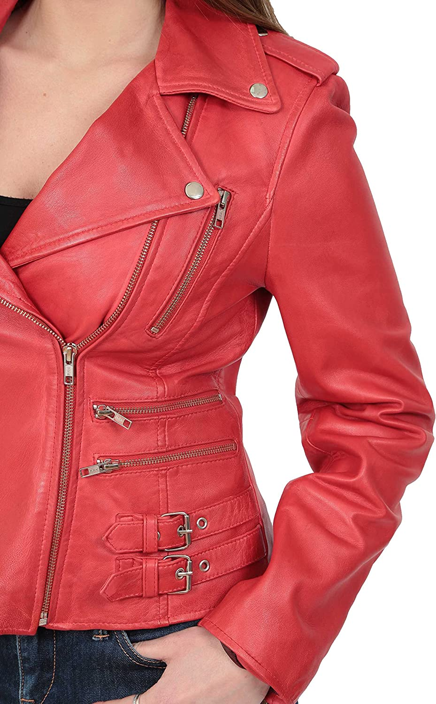 A1 FASHION GOODS Blouson - Manches Longues - Femme Red