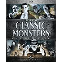 Deals on Universal Classic Monsters:Complete 30-Film Collection Blu-ray
