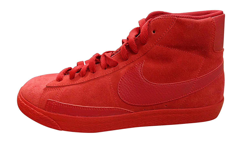 Nike Blazer Mid PRM VNTG, Zapatillas de Baloncesto para Hombre 44 EU|Rojo / Marrón (Gym Red / Gym Red-gm Light Brown)