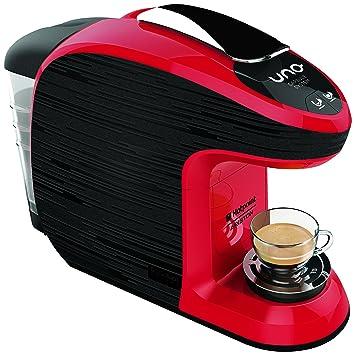 Hotpoint cm HB qbr0 máquina para café espresso, 1300 Watts, 0,85 l, negro/rojo: Amazon.es: Hogar