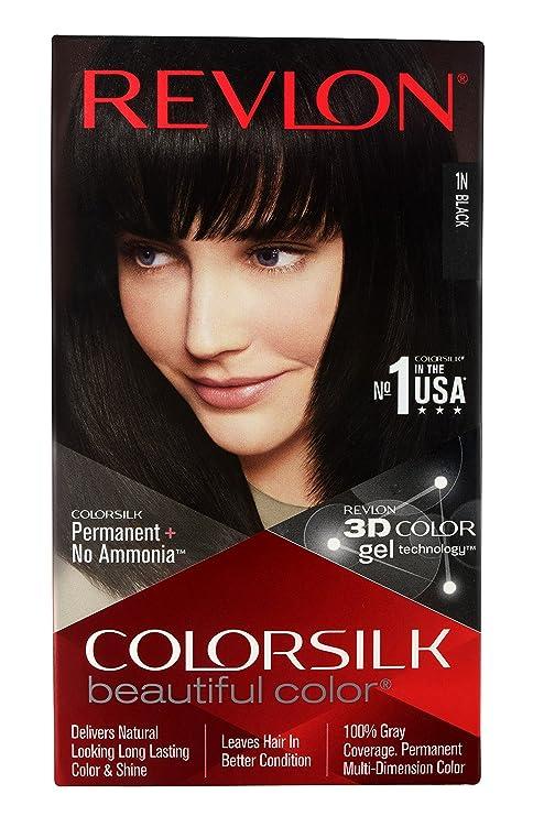 Buy Revlon Colorsilk Hair Color Black 1n 200g Online At Low Prices