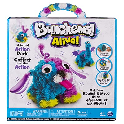 Bunchems Alive, Motorized Action Pack, by Spin Master: Toys & Games