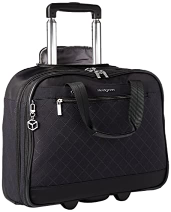 hedgren diamond star  : Hedgren Diamond Star Onyx Business Briefcase with Wheels ...