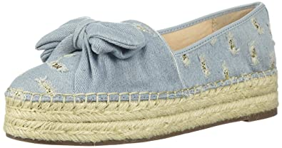 9ba4354ed Circus by Sam Edelman Women's Cali Platform, Light Blue/Jute, 7 Medium US