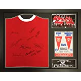 ce4dab5d2 Allstarsignings Manchester United 1968 home shirt signed x10 and Framed  with COA and proof