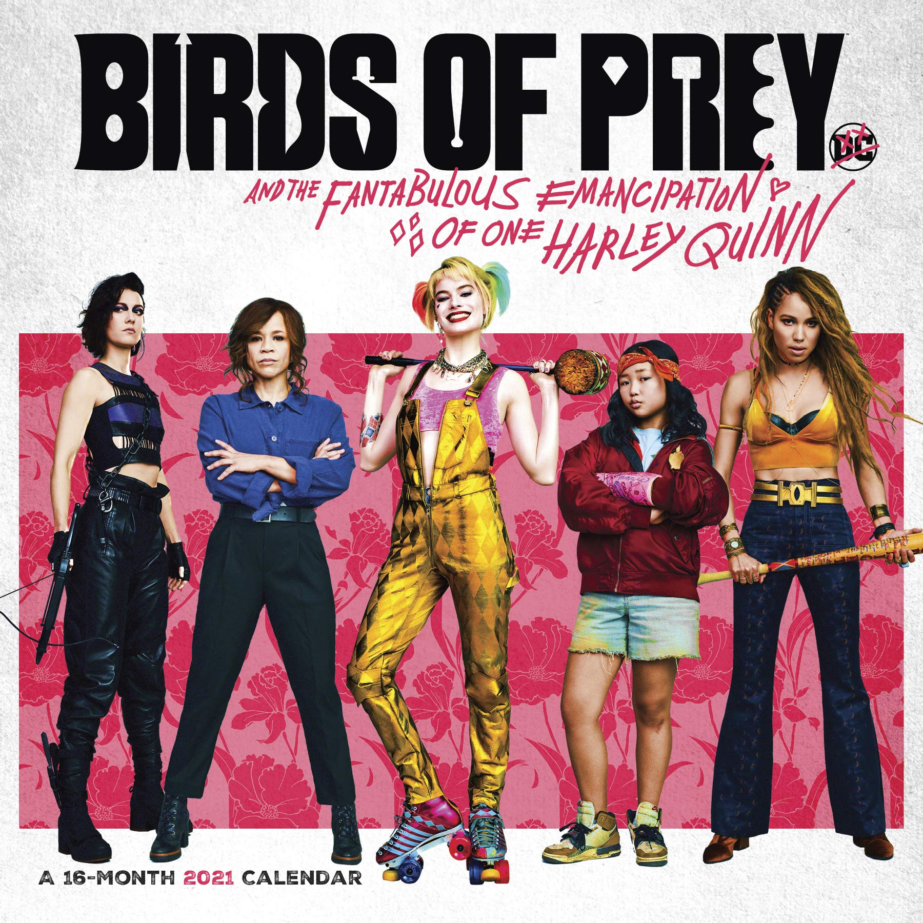 2021 Birds of Prey Wall Calendar: Trends International