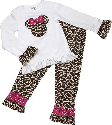 Kids Clothing Toddler Girl//Girls Ruffled Short Capri Boutique Outfit Clothing Set