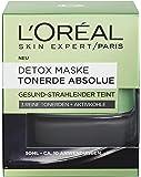 L'Oréal Paris Tonerde Absolue Detox Maske, 1er Pack (1 x 50 ml)