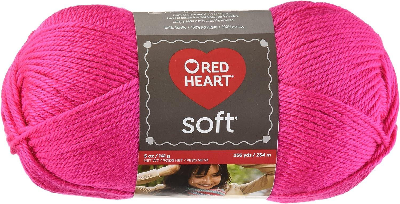 RED HEART Soft Yarn, Pink