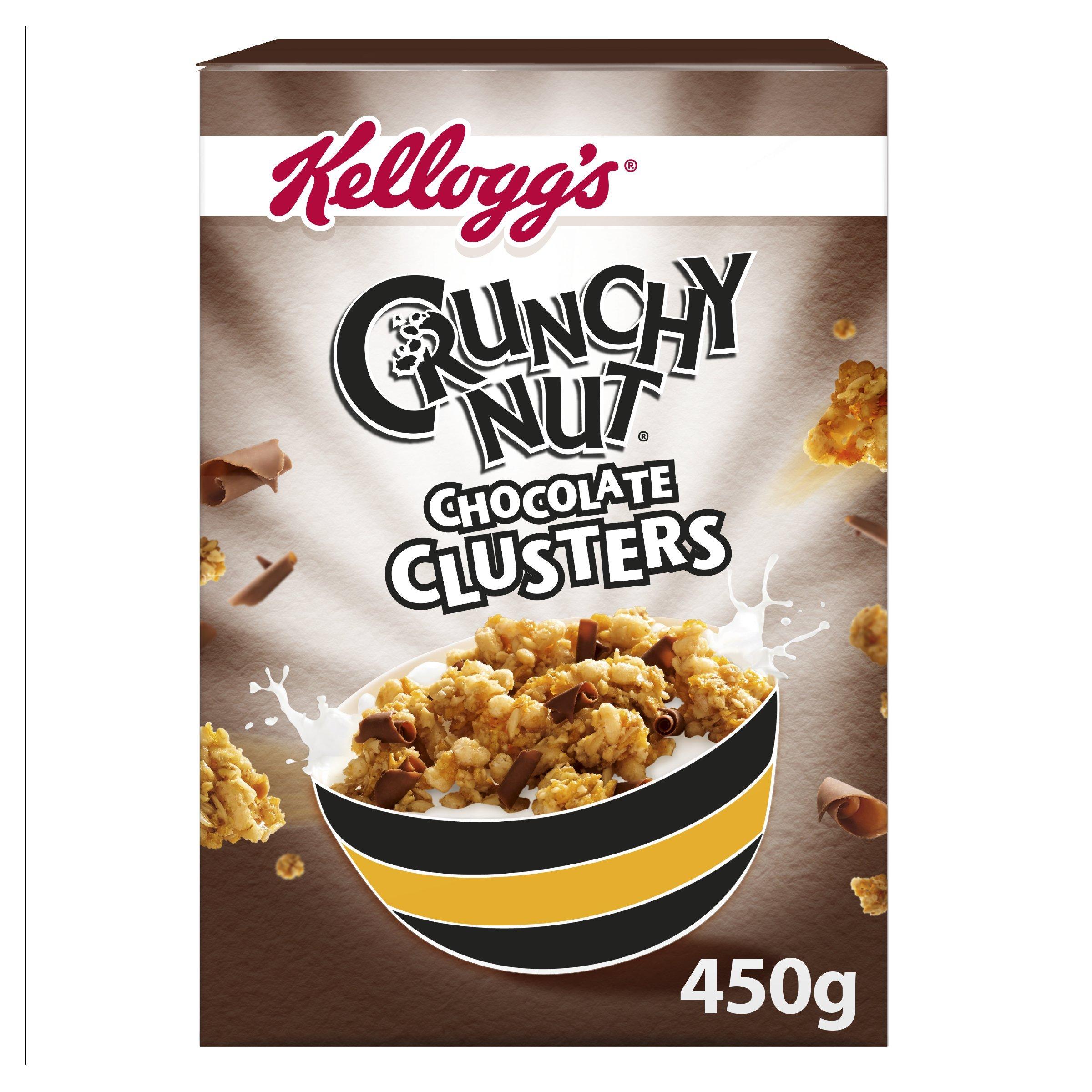 Amazon.com: Kellogg's Crunchy Nut Clusters Honey & Nut