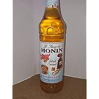 Monin Reduced Sugar Salted Caramel Syrup 1 Litre